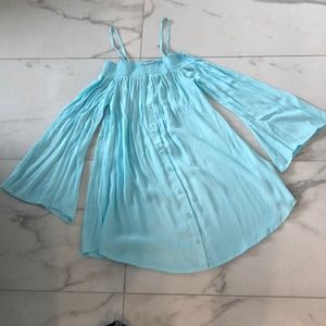 NEW! Aila Blue Gypsy Mini Dress